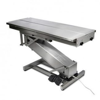 Electric surgery table for veterinarians