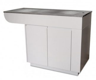 Manchester HPL on Hydrophobic Particleboard tub with 2 doors