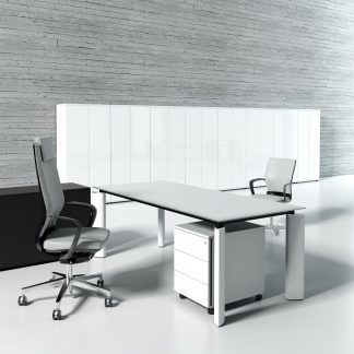 CRYSTAL - Office desks, cabinets and tables