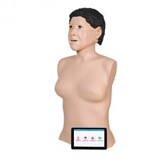 CPR doll for training and simulations including tablet - CPRLillyPRO™